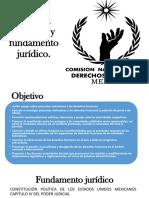 Objetivo y Fundamento Jurídico