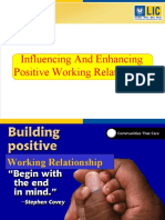 Influencing Positive Working Relationship2-1