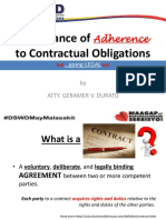 Contractual Obligations_Legal Aspects