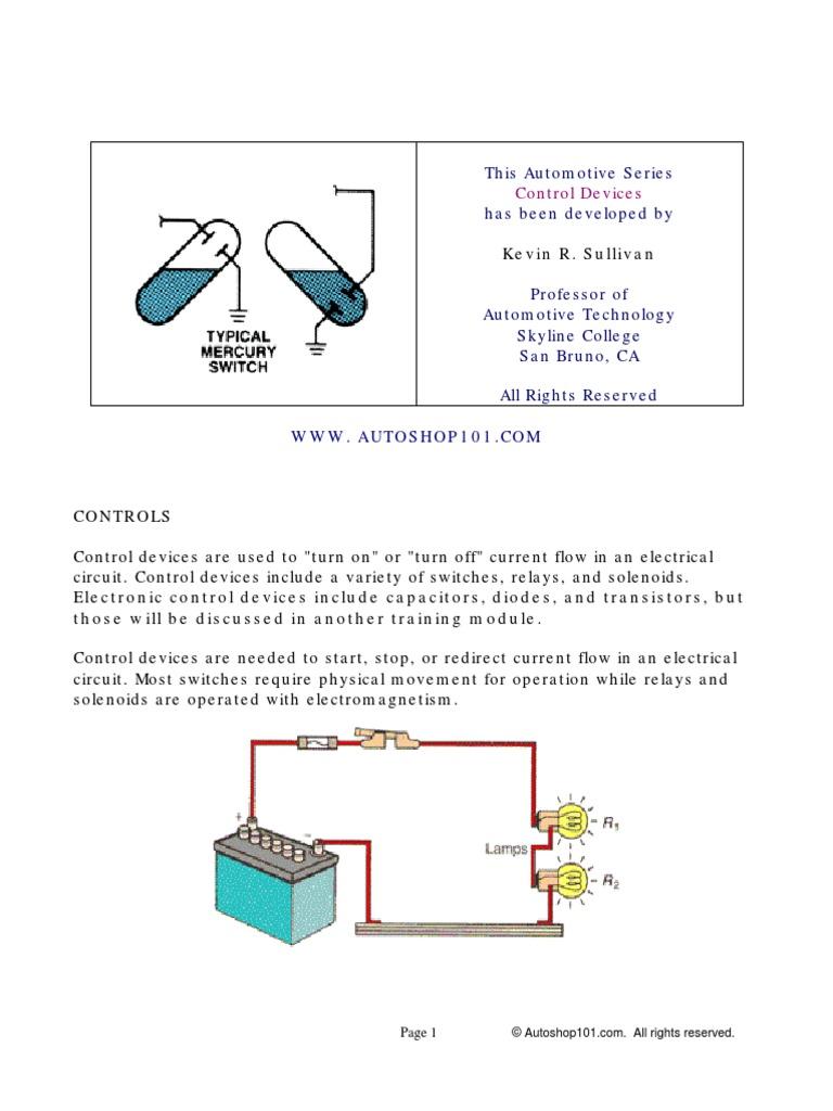 Hweb5pdf Switch Relay Transistor Driver Circuit Schematic