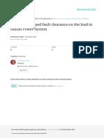 Impactofdelayedfaultclearance_POSOCO