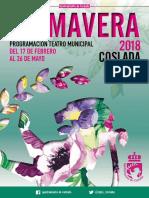 Programación del Teatro Municipal de Coslada / Primavera 2018