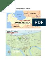 Map Municipality of Lingayen
