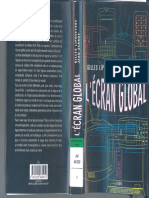 Écran Global Culture-médias Et Cinéma à l'Âge Hypermoderne, L' - Gilles Lipovetsky & Jean Serroy - Seuil - Mai, 2007