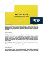 NEFT and RTGS Telegram30Dec