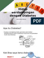 Hidup Berdampingan Dengan Diabetes