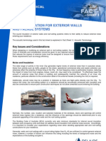 Noise Technical Fact Sheet 5 - Sound Insulation for Exterior Walls and Facade Systems