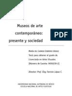 Museos de Arte_ Presente y Sociedad