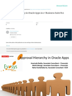 Approval Hierarchy in Oracle Apps in e Business Suite R12