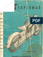 NSU Supermax Manual