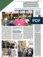 Uno shop con lode - L'Ateneo apre il suo primo store - Il Resto del Carlino dell'8 febbraio 2018