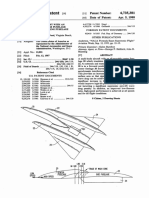 590505 Tri-Hull Supersonic Aircraft Patent