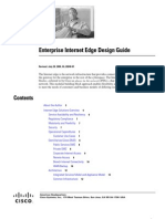 Enterprise Internet Edge Design