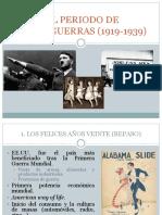 El Periodo de Entreguerras (1919-1939)