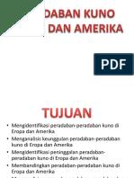 Peradaban Kuno Eropa dan Amerika