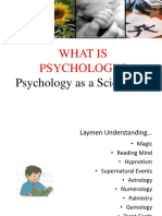 Introduction to -Psychology
