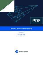 Remote Data Replicator (RDR) V6.1 User Guide