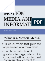 15 Motion Media and Information 170927073911
