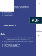 ITIL Sample Questions