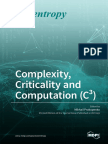 Complexity Criticality and Computation C