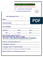 registration form of sms jobs