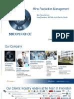 Dassault Systemes Geovia Mine Production Management Ben Farquharson