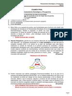 Examen Final de Planeamiento Estrategico y Prospectiva - 2015-2 - Solucionario