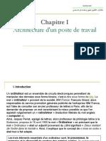 Chapitre I (Architecture D_un Poste de Travail)