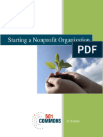 Starting a Nonprofit Organization Guide