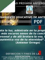 Pensamiento Antenor Orrego CARO