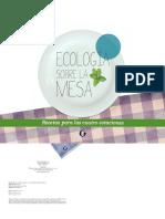Ecologia Sobre La Mesa 2 Ed