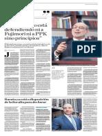 El Estado No Está Defendiendo Ni a Fujimori Ni a PPK Sino Principios