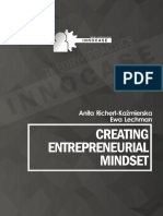2. Creating Entrepreneurial Mindset
