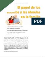 El Papel de Los Abuel@s en La Familia