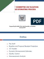 Revenue Estimating Process January 2017