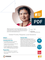 Global Poverty Requires Local Solutions
