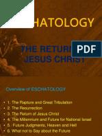 Eschatology -The Return of Christ