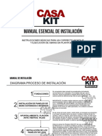 Manual Práctico de Instalacion Casa Kit
