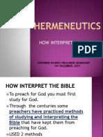 Hermeneutics 16122017