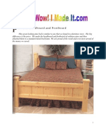 Pine Bed
