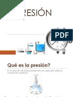 Presion Mecanica de Fluidos