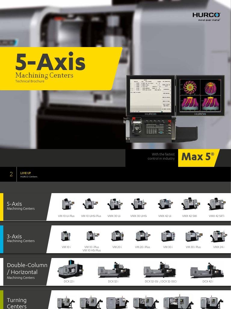 Centru de Prelucrare_5-Axis | Industries | Mechanical