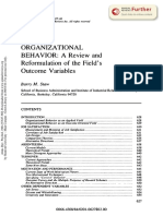 Staw a Review and Reformulation of Outcome Variables Articel 4