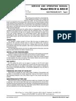Manual SH2M List Parts