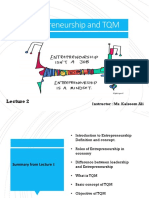 Lec 2 Entrepreneurship and TQM