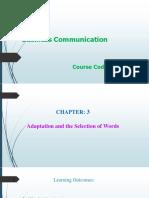Business Communication Lec-3