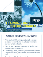 Bluesky Learning Profile