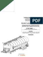 Catalogo de Partes Tanque Asfalto CIBER TM 4020