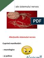 Afecțiuni Ale Sistemului Nervos -Stoma