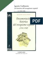 Agustín Guillamón, Documentación Histórica Del Trosquismo Español (1936-1948) (1)